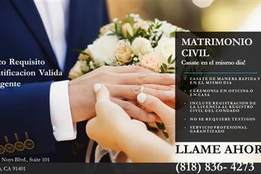 MATRIMONIOS EN VAN NUYS en Los Angeles County