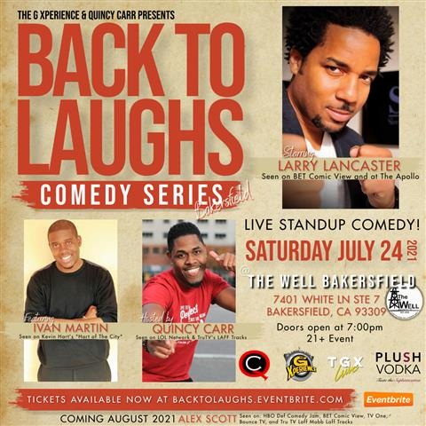 Back To Laughs Comedy Series image 1