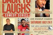 Back To Laughs Comedy Series