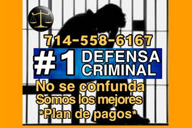 🔝 DEFENSA CRIMINAL en Los Angeles