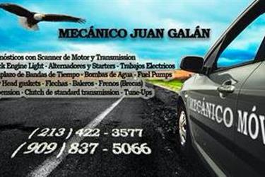 > > MECANICO A SU CASA < < en Los Angeles County