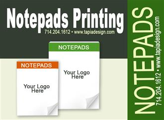 Notepads printing full color image 1