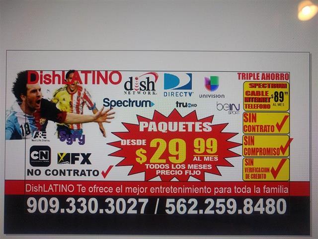 CABLE E INTERNET SIN CONTRATO image 1