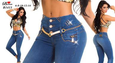 $10 : JEANS COLOMBIANOS $9.99 image 1