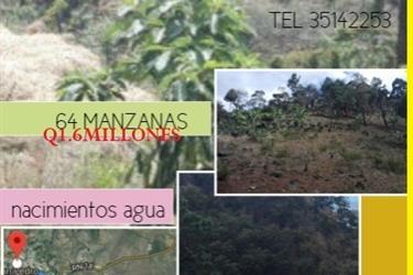 JALAPA de TERRENO EN Municipio en Guatemala City