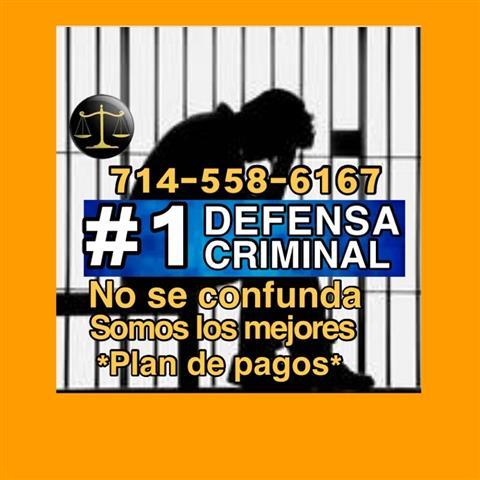 ❎ ABOGADO / DEFENSA CRIMINAL. image 1