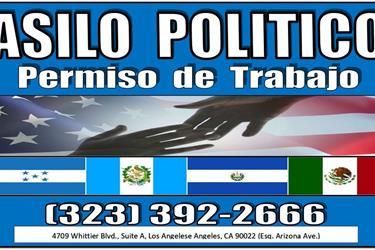 ASILO POLITICO►PERMISO TRABAJO en Los Angeles