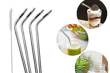 Stainless Steel Straws en Jersey City