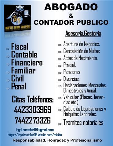 BUFETE LEGAL Y CONTABLE image 1