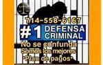 ✅DEFENSA CRIMINAL AGRESIVA en San Bernardino County