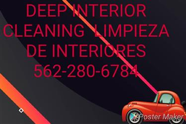 Special interior cleaning en Los Angeles