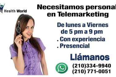 Personal en Telemarketing en Los Angeles County