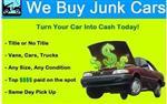 WE BUY CARS, VANS, & TRUCKS en Los Angeles