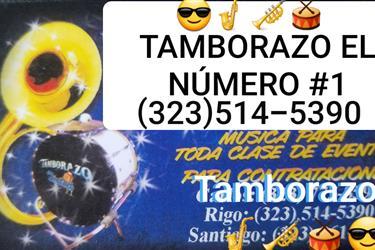 TAMBORAZO  LOS TEQUILEROS # 1 en Los Angeles
