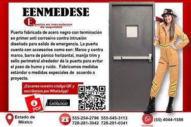 PUERTA DE EMERGENCIA EENMEDESE en Mexico DF