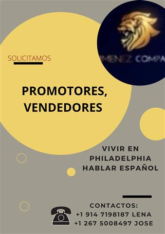 VENDEDORES, PROMOTORES. image 1