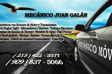 Mecanico disponible hoy en Riverside County