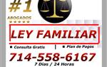 ⚖️ #1 LEY FAMILIAR en Los Angeles