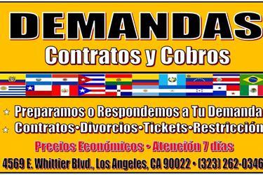 AYUDA EN TU NECESIDAD LEGAL en Los Angeles County