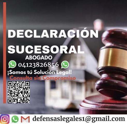 Declaración Sucesoral Herencia image 1