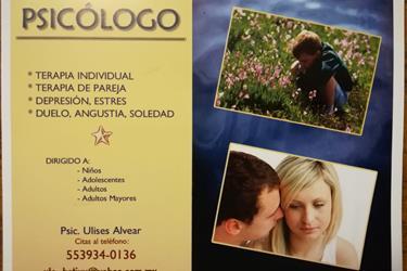 Psicologo 24hrs al di en Mexico DF