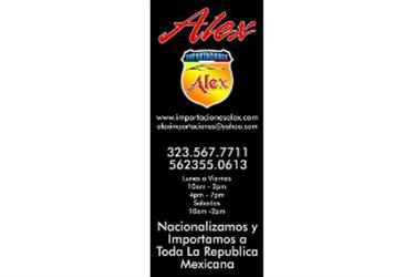 ALEX IMPORTACIONES 81 AL 2012 en Los Angeles