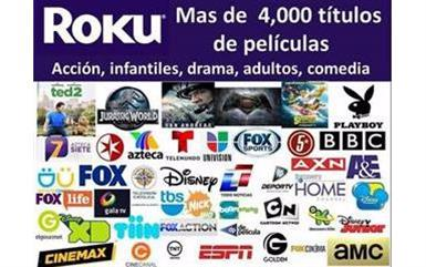 ROKU O FIRE TV TELEVISION image 1