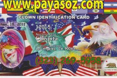 payasos en San Bernardino County