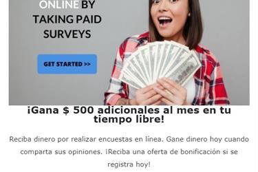 Gana $$ completando formulario en New York