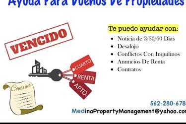 Encargada de propiedades mgmt. en Los Angeles