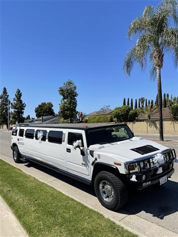 Limo Hummer party bus image 1