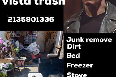 Camión de basura Terminator en Los Angeles