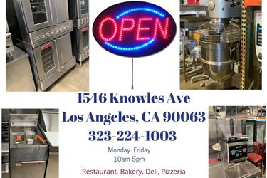 Restaurant Equipment en Los Angeles