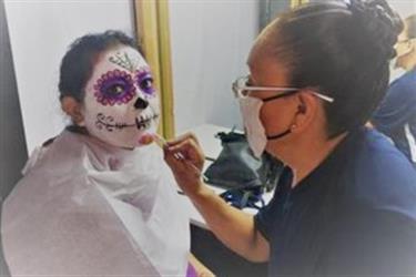 maquillaje catrina en Los Angeles