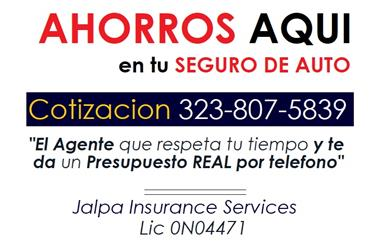 SEGUROS ECONOMICOS !! en Los Angeles County