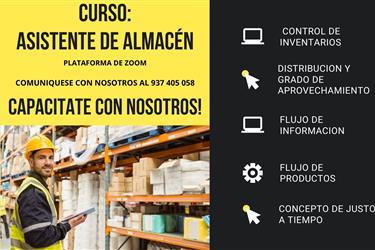CURSO DE ASISTENTE DE ALMACÉN en Lima