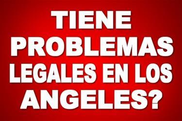TIENE UN CASO LEGAL PENDIENTE? en Los Angeles County