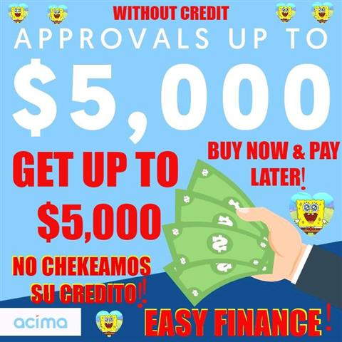 📣❗💥 ¡CREDIT LINE UP TO $5000 image 4