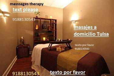 Massage Masajes  9188130543 en Tulsa