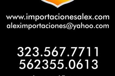 ALEX IMPORTACIONES1981 AL 2012 en Houston