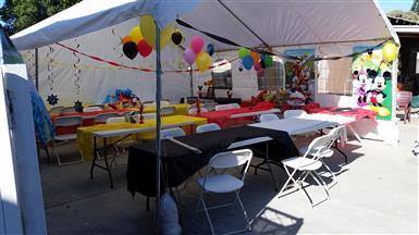 party rentals en santa ana ca. image 1
