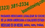 Legalizacion de autos a mexico en Los Angeles