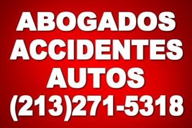 ABOGADOS EN CASOS DE ACCIDENTE en Los Angeles County