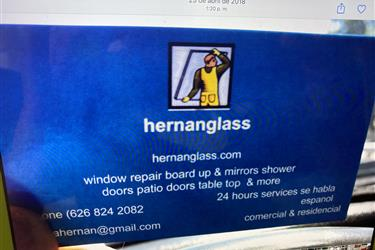 Hernan glass en Los Angeles County