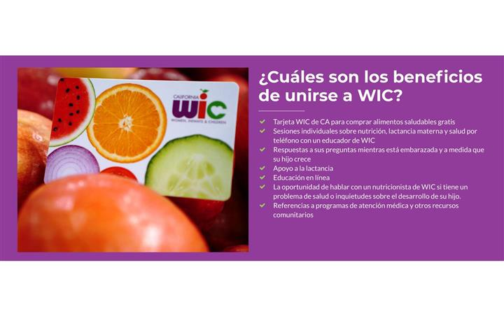 JOIN THE WIC PROGRAM TODAY image 1