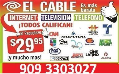 CABLE + INTERNET + TEL. image 1