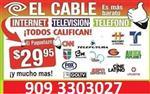 CABLE + INTERNET + TEL. en Charlotte