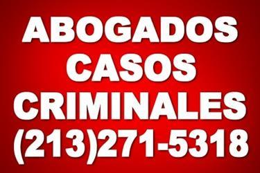 DEFENSA CRIMINAL por ABOGADOS en Imperial County