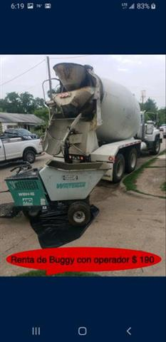 Concrete Buggy's for Rent image 1