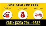 CASH FOR CARS ANY CONDITION en Los Angeles